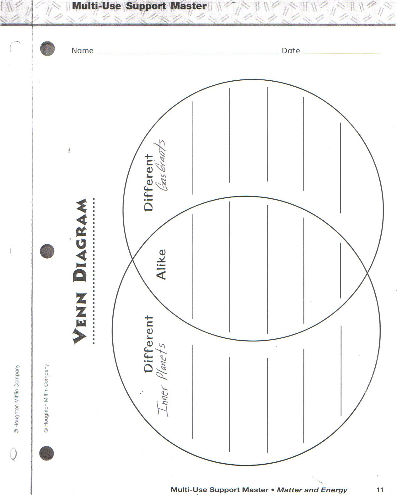 Venn Diagram Worksheet 1st Grade