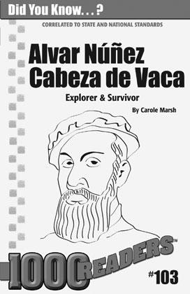Gallopade International: Alvar Nunez Cabeza de Vaca