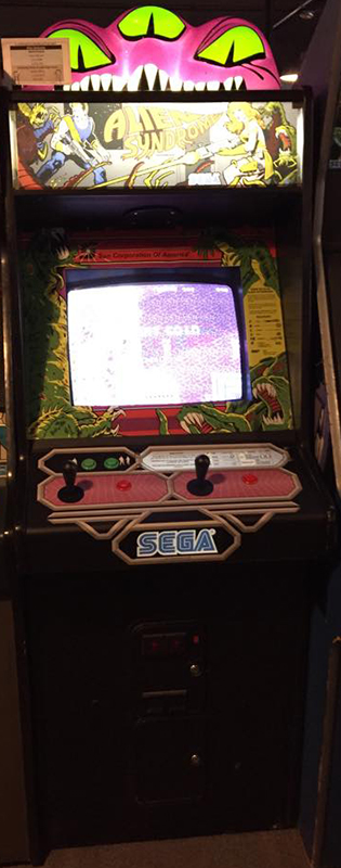 Alien Syndrome Galloping Ghost Arcade