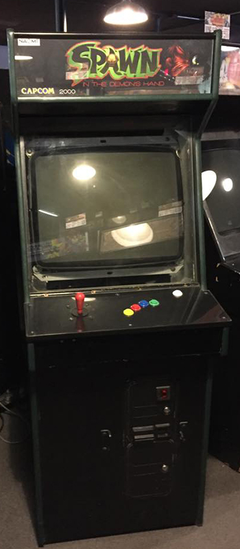 Spawn In the Demons Hand Galloping Ghost Arcade