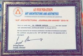 All India award