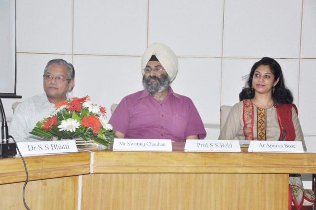 Speaker at CCA Golden Jubilee Celebrations, Chandigarh