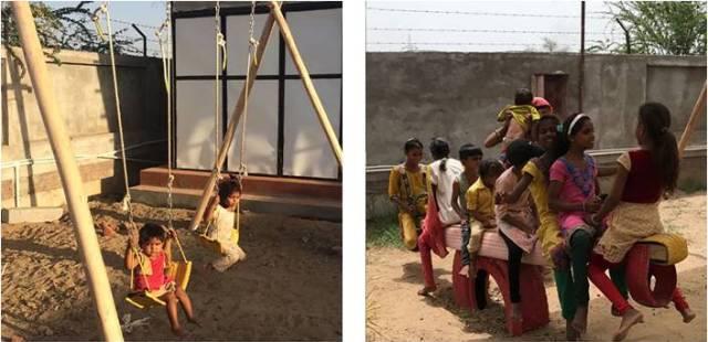 Kids enjoying at Playground 1