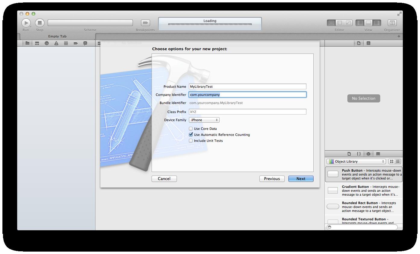 Create app project B