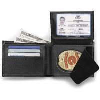Galls Classic-Style Leather Concealable Badge Wallet