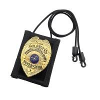 Covered Six Nylon Badge Holder