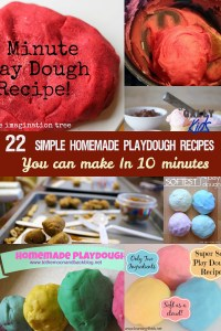 Here are some of the best recipes to make homemade playdough. Includes basic playdough recipe as well as many others including non-gluten, edible, tartar-free and more. @gallykids