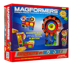 Magformers Magnets in motion science kit
