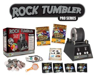 Rock tumbler science kit