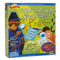 Scientific ExplorerCrime Catcher Spy science kit