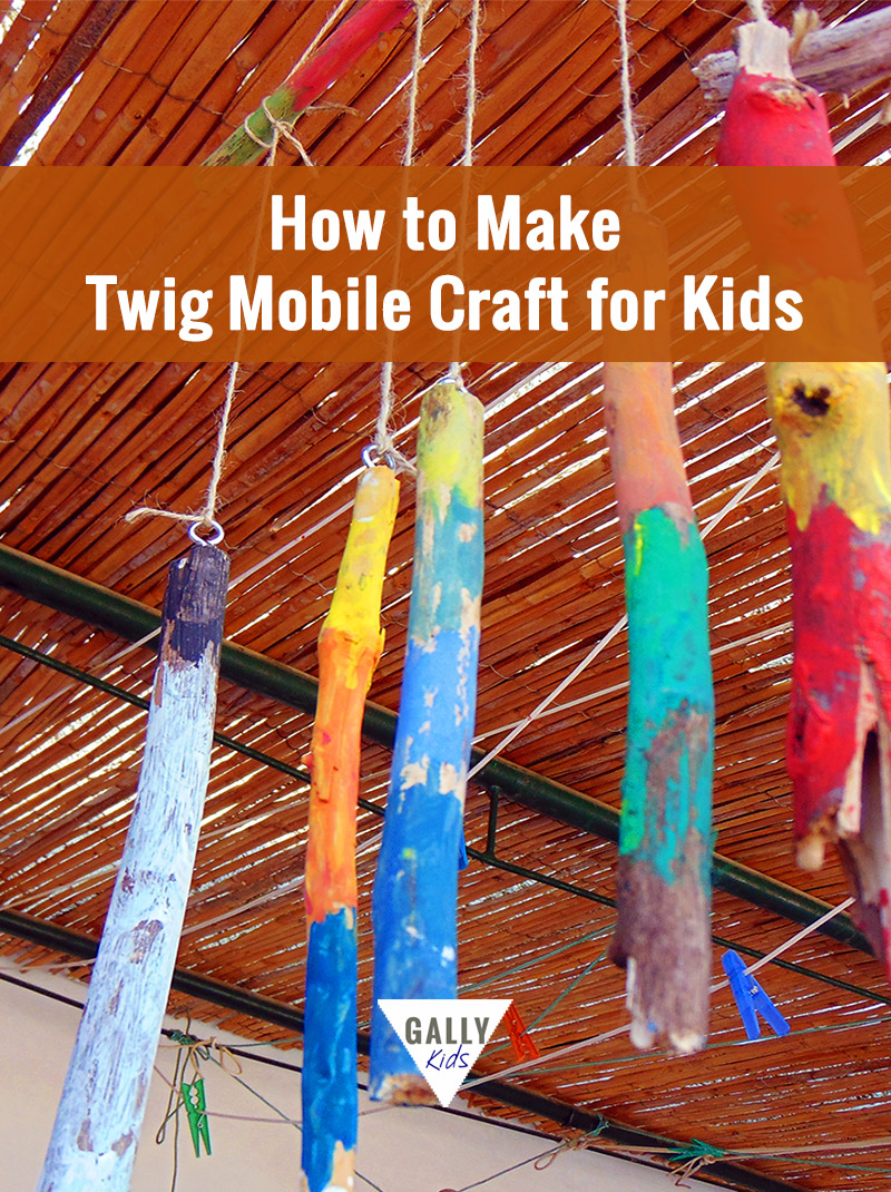 How To Make Twig Mobile Craft For Kids