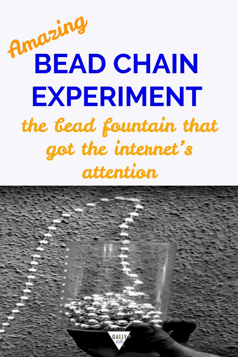 Amazing Bead Chain Experiment