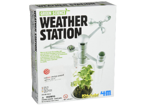 4m Weather Station kit - learn more about the greenhouse effect and also make your own weather station at home
