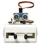 Sparki, the Programmable Arduino Robot is a great beginner robot for kids. It's a fun and educational way to learn more about programming and robot building.