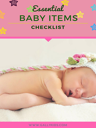 Essential Baby Items List [Printable]