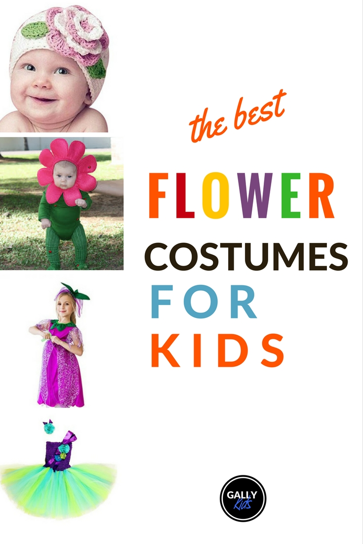 Ideas For Pretty And Easy Flower Costumes For Kids This Halloween