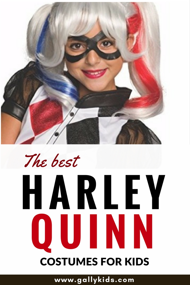 The best harley quinn costumes for kids this halloween its not easy to find child sizes for the harley quinn costume especially with the suicide solutioingenieria Image collections