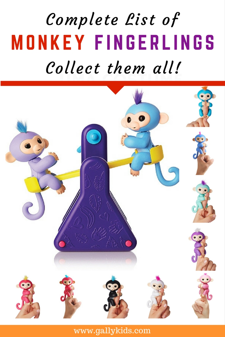 Monkey Fingerlings Toys: Collect Them All!