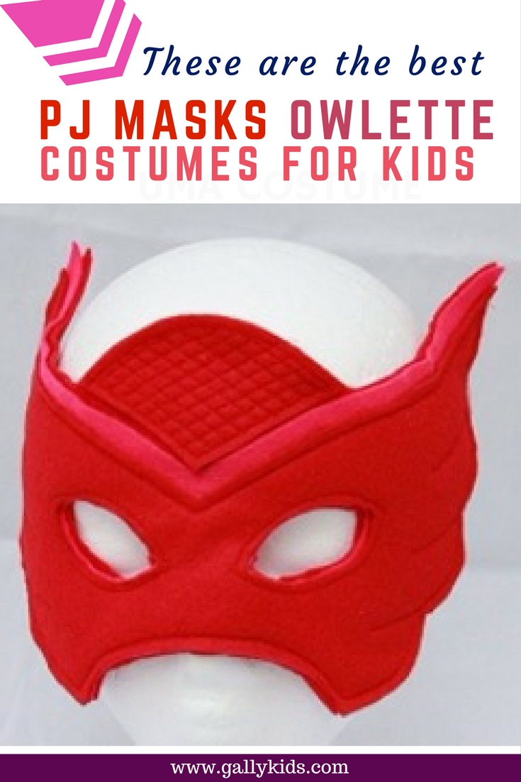 PJ Masks Owlette Costumes For Toddlers And Older Kids