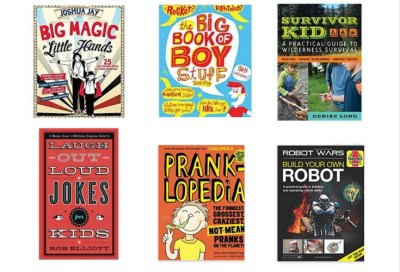 Books for tween boys. Interesting topics that tween boys love to read.