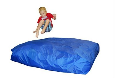 Crash pad mat for the active kid or the child with sensory issues.