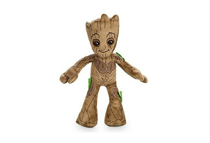 Best fit for younger kids, groot plush toy.