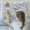 Doodle pillow case
