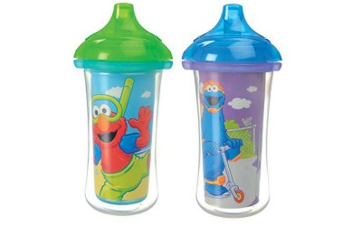 Insulated sippy cups for 2 year olds. Your toddler will love these.