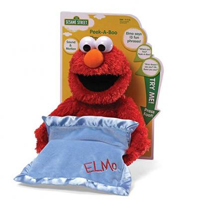 A fun stuffed toy for boys. If they watch Elmo on Sesame street, they will love this huggable Elmo too!