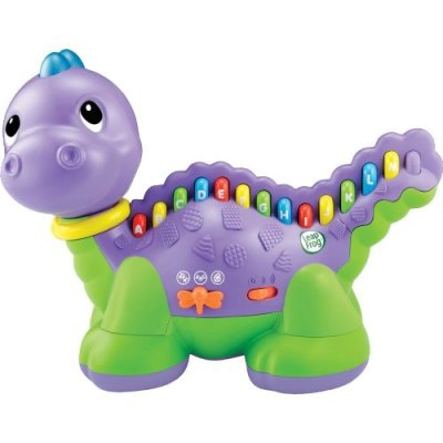 Leapfrog Lettersaurus.  A fun way to learn the alpahabets - And if your child loves dinosaurs, he is going to love the Lettersaurus too