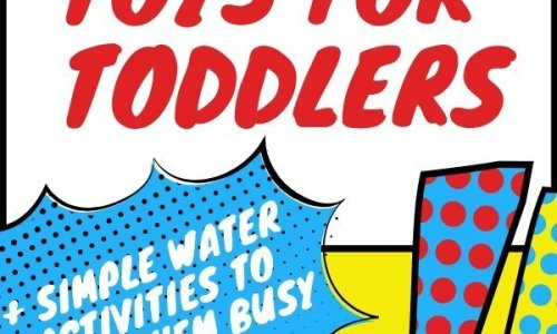 Fun Water toys for toddlers to play with
