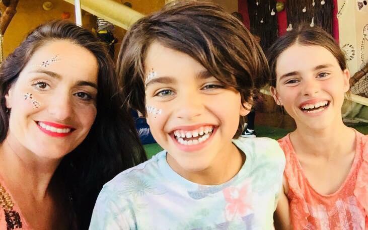Η Σιμέλα και τα δύο της παιδιά