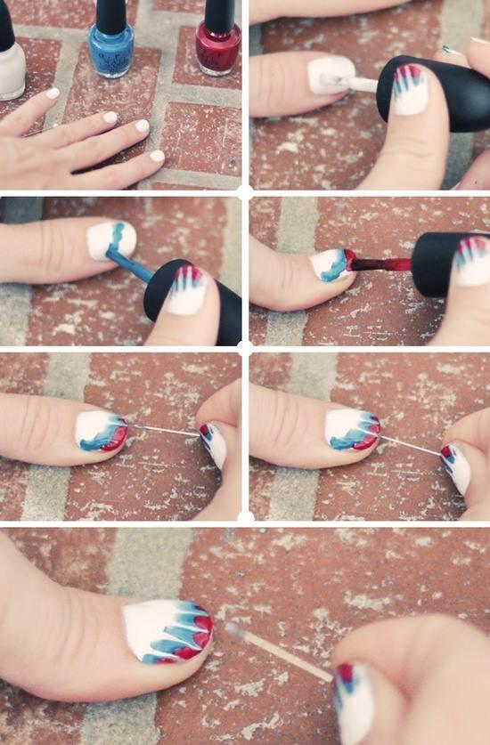Cute Easy Nail Art Step By Simple Tutorials Design Industriet