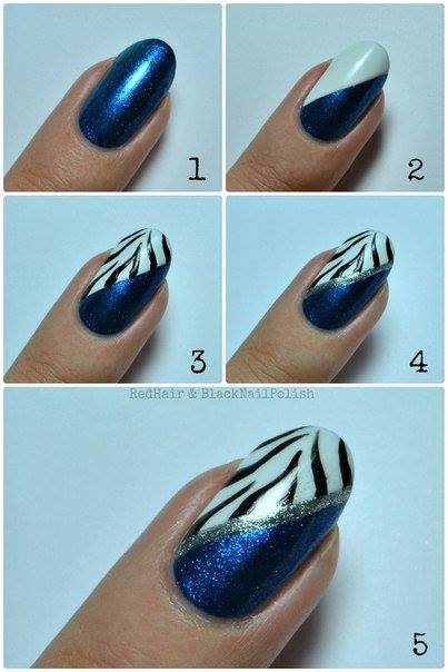 Step By Nail Art Picture Tutorial Best And Easy Designs To Try 4