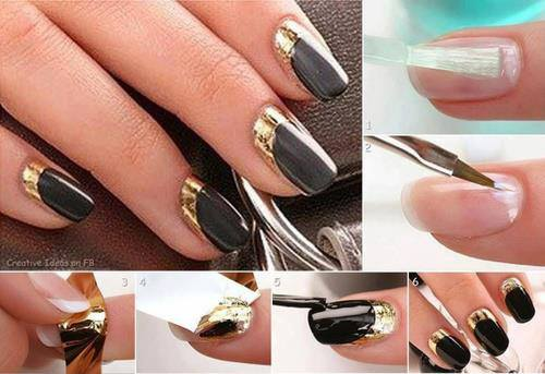 12 Easy Step By Nail Art