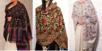 Beautiful Kashmiri Winter Shawls Designs Collection 2015 ...