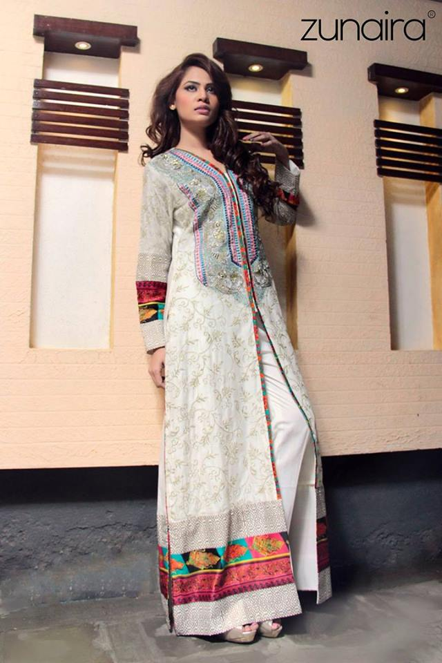 Pakistani Party Wear Dresses Frocks 2019 by Zunaira Lounge  Galstylescom