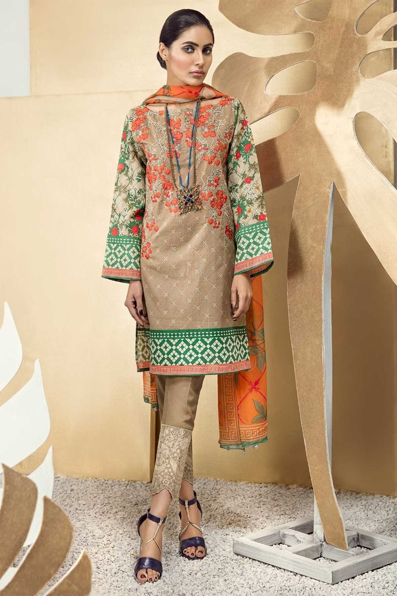 Khaadi Summer Printed Embroidered Lawn Dresses Collection