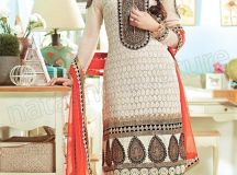 Pakistani & Indian Straight Cut Salwar Suits Designs Latest Collection 2015-2016 (26)