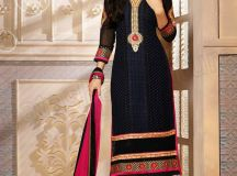 Pakistani & Indian Straight Cut Salwar Suits Designs Latest Collection 2015-2016 (5)