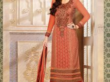 Pakistani & Indian Straight Cut Salwar Suits Designs Latest Collection 2015-2016 (7)