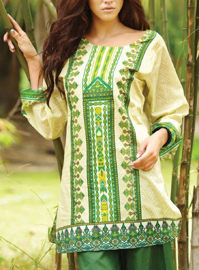 Trendy Ladies Summer Kurti Designs  Tunics Trends 2019