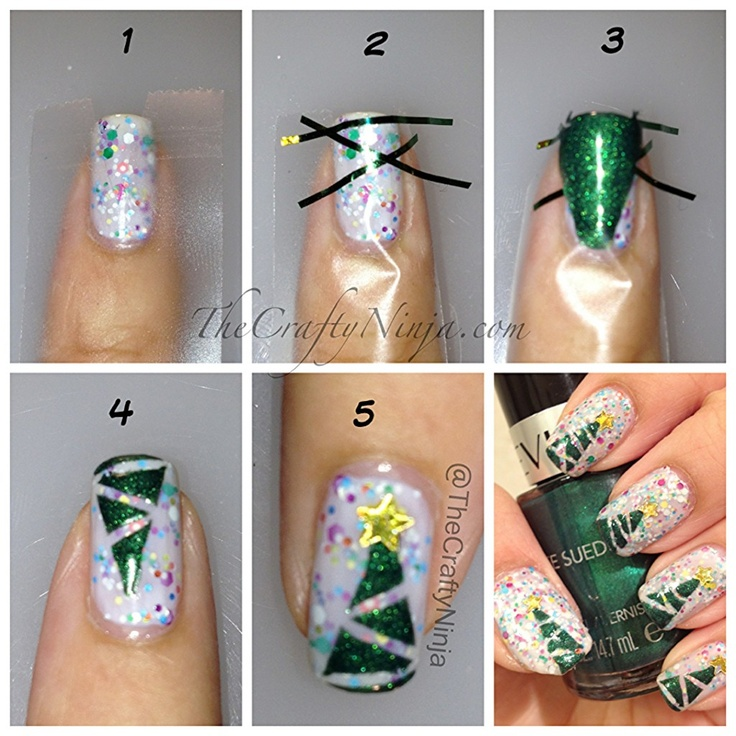 Incredible! Christmas Top Ten Best Nail Art Designs With Tutorials