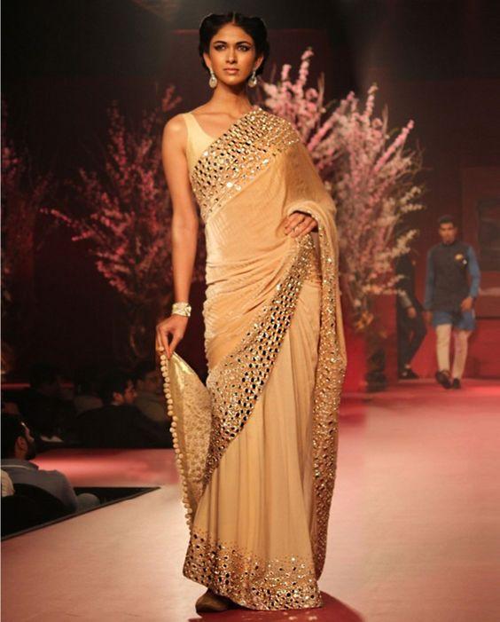 Manish Malhotra Latest Indian Designer Sarees 2019 Collection  Galstylescom