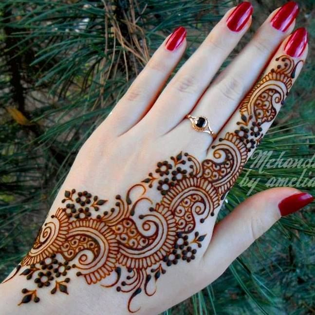 Mehandi Designs 2017 Latest Arabic