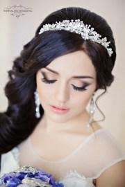 floral fancy bridal headpieces