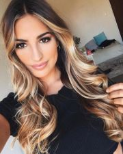popular ombre hair color &