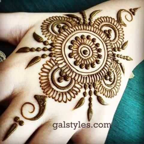Simple Mehndi Design 2017
