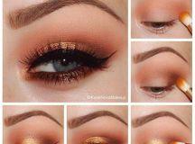 orange-tint-christmas-makeup-ideas-3