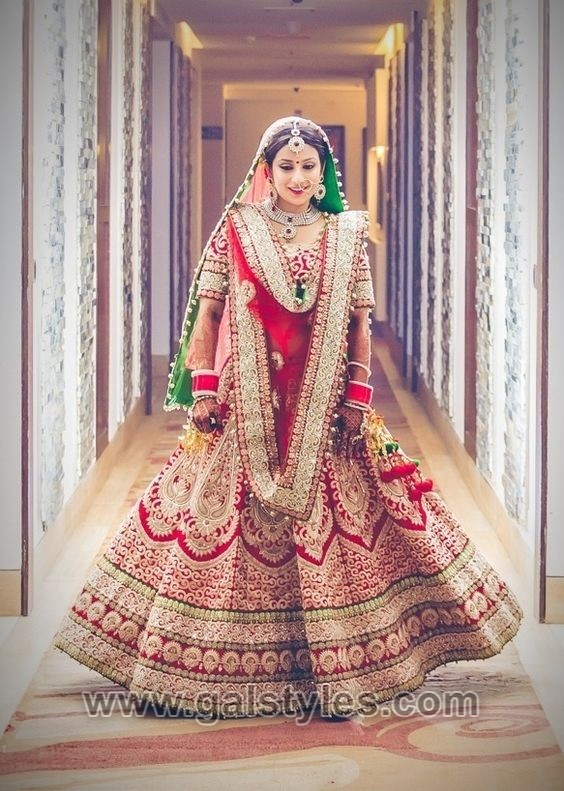 Latest Indian Bridal Dresses Designs Trends 2019